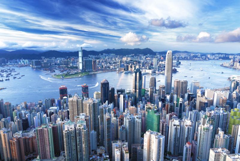 קו השמיים של העיר הונג קונג
