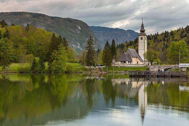 אגם בלד בסלובניה- טיול בת מצווה